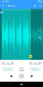4. Ringtone Maker- MP3 Editor & Music Cutter
